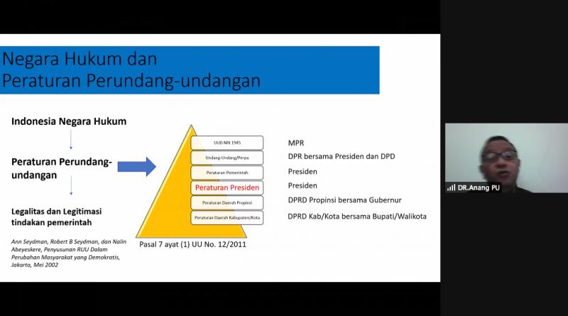Kedudukan Peraturan Presiden Perlu Pembenahan Hierarki Peraturan Perundang-Undangan di Indonesia